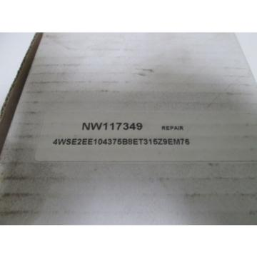 REXROTH Greece china 4WSE2EE10-45/75B8ET315K9EV-76  SERVO VALVE (REPAIRED) *NEW IN BOX*