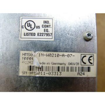 Rexroth Mexico Germany HMS01.1N-W0210-A-07-NNNN Indra Drive M  Frequenzumrichter