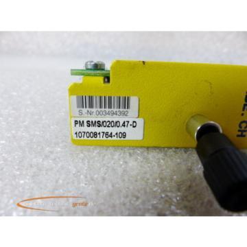 Bosch Russia Dutch Rexroth PM SMS/020/0.47-D Steckmodul 1070081764-109 > ungebraucht! <