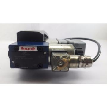 REXROTH 4 WE 6 JB62/EG24N9K4 SOLENOID OPERATED DIRECTIONAL CONTROL VALVE
