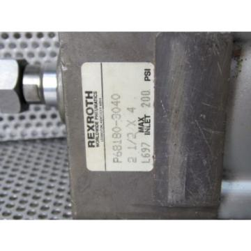 REXROTH Egypt Singapore  P68180-3040 2-1/2 X 4 AIR CYLINDER