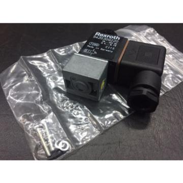 REXROTH Greece Singapore 5420309220 Pneumatic Solenoid Valve  18...24V DC 3.4..5.1W