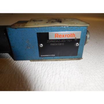 Rexrtoh Canada Korea ZDR6DA2-43/75Y Hydraulic Pressure Reducing Valve
