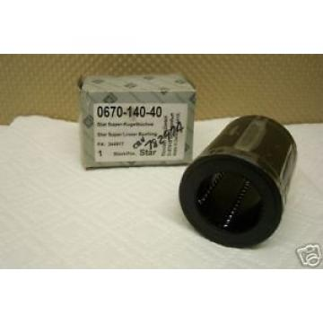 STAR Korea India REXROTH 0670-140-40 SUPER LINEAR BUSHING NEW