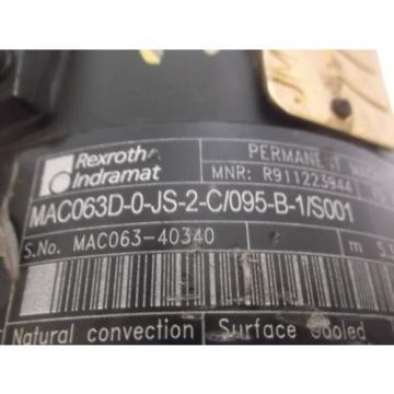 REXROTH Dutch Mexico MAC063D-0JS-2-C/095-B-1/S001 SERVO MOTOR *NEW NO BOX*