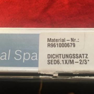 REXROTH Russia Australia SEAL KIT     R961000679       SED6.1X/M-2/3*  NEW