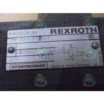 REXROTH Egypt Australia  DR20541/200Y  VALVE *USED*