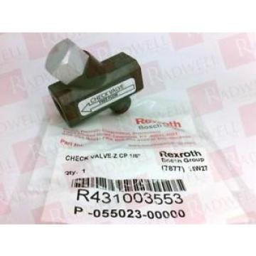 BOSCH Dutch Canada REXROTH R431003553 RQANS1