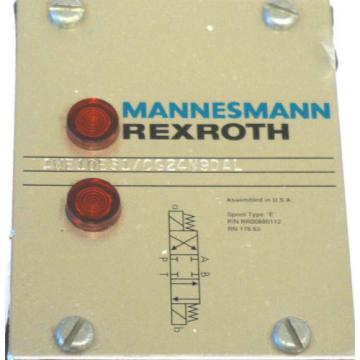 NEW India Canada REXROTH MANNESMANN 4WE10E31/CG24N9DAL HYDRAULIC VALVE 4WE10E31CG24N9DAL