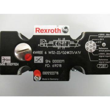 REXROTH-Pneumatikventile Mexico Japan  4WREE6W32-22/G24K31/A1V  R900911004