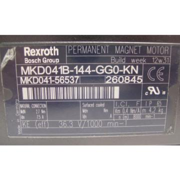 *NEW* USA china REXROTH INDRAMAT  PERM MAGNET MOTOR  MKD041B-144-GG0-KN   60 Day Warranty!