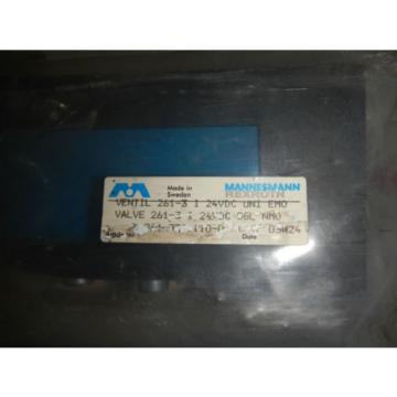 Rexroth Mexico Singapore Pneumatic Valve # 261-308-110-0