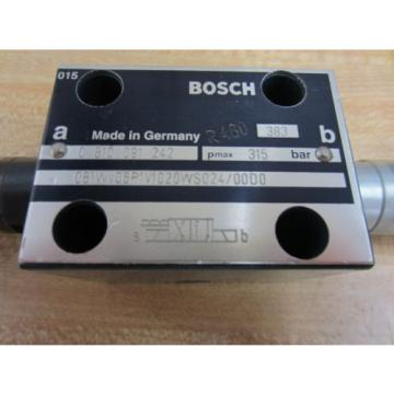 Rexroth Japan Korea Bosch Group 081WV06P1V1020WS024/0000 Valve 383 R480 - Used