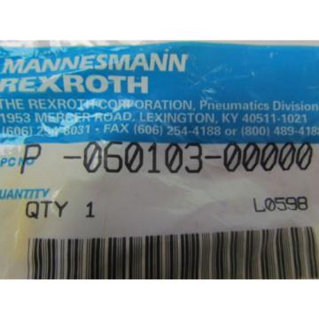 Mannesmann China Singapore Rexroth P-060103-00000 Hopper dump valve operator repair kit