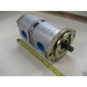 REXROTH Italy Mexico HYDRAULIC PUMP 7878   MNR 9510-290-333 Special Purpose Dual Outlet NEW