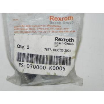 REXROTH India Korea PS-030000-K0005 CD-7 DIRECTIONAL VALVE KNOB KIT NEW PS030000K0005