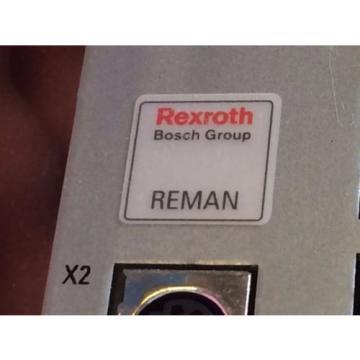 REMANNED Italy Singapore REXROTH BOSCH R911328178 CSH01.1C-ET-ENS-NNN-NNN-S2-S-NN-FW SERVO DRIVE