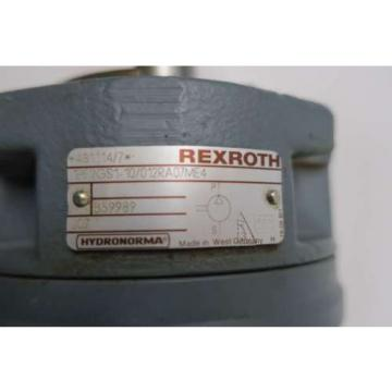 REXROTH 1PF2GS1-10/012RA07ME4 HYDRAULIC GEAR PUMP D539251