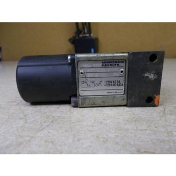 Mannesmann China Mexico Rexroth 534635 11 /350Z14S Solenoid Valve *FREE SHIPPING*