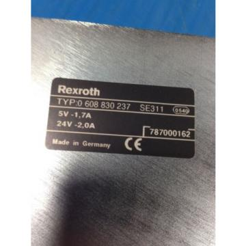 USED Canada Japan BOSCH REXROTH 0 608 830 237 TIGHTENING CONTROLLER SE311 0-608-830-237 (C32