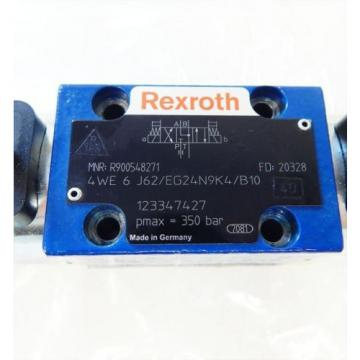 Rexroth USA Egypt 4WE 6 J62/EG24N9K4/B10 Wege-/Schieberventil  - unused -
