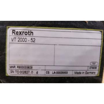 Rexroth Germany Greece VT 2000 - 52 Proportional Amplifier Electrical amplifier Card Boxed New!
