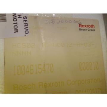 REXROTH Canada Korea HCS02.1E-W0012-A-03-NNNN SERVO DRIVE *FACTORY SEALED*