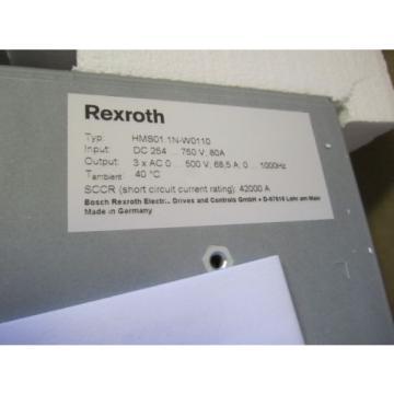 REXROTH China India INDRAMAT  HMS01.1N-W0110-A-07-NNNN ,,, HMS011NW0110A07N