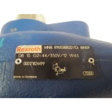 REXROTH Japan France DB 15 G2-44/350V/12 W65 VALVE RELIEVE PILOT OPERATED *NEW NO BOX*