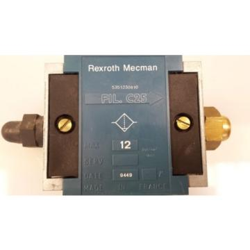 rexroth Japan Japan Mecman 5351230810 FIL. C25