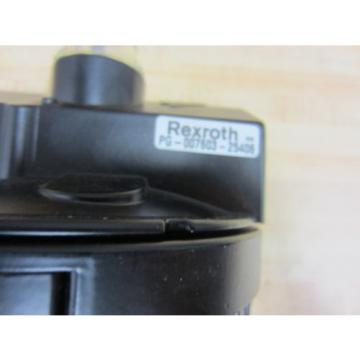 Rexroth Singapore France Bosch Group PG-007603-25406 Lubricator PG00760325406