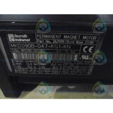 REXROTH Dutch Mexico INDRAMAT MKD090B-047-KG-KN MOTOR  *NEW IN BOX*