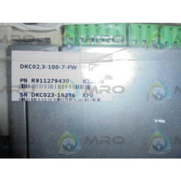 REXROTH Germany Italy INDRAMAT DKC02.3-100-7-FW ECODRIVE *NEW IN BOX*