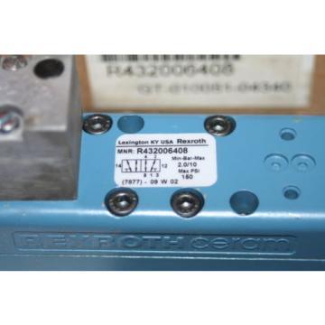Rexroth Japan Russia Bosch Group Ceram Pneumatic Valve R432006408 GT-010051-04340  NEW