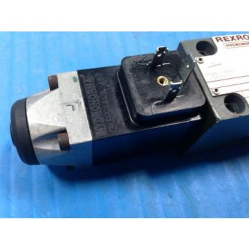 USED Canada Singapore REXROTH 4WE6J52/AG24NZ4 DIRECTIONAL VALVE 4 WE 6 J52/AG24NZ4 (U4)
