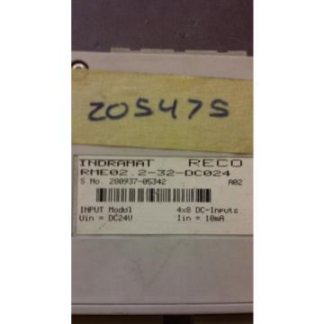 Rexroth Dutch France Indramat RME02.2-32-DC024, Input Module - New w/o box