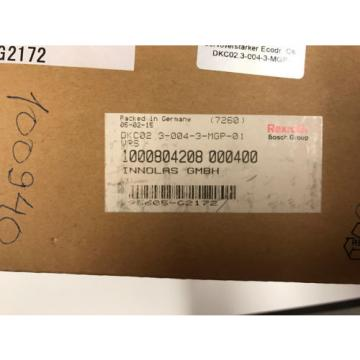 REXROTH France Korea DKC02.3-004-3-MGP-01VRS ECODRIVE DKC02 Brand new Free Shipping