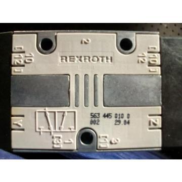 New France Greece REXROTH 563-445-010-0 3/2 Control Valve