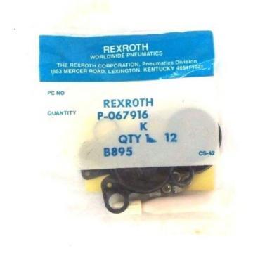 LOT Mexico Japan OF 4 NEW REXROTH P-067916 REPAIR KITS P067916