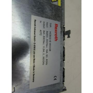 REXROTH Russia Korea HCS02.1E-W0028-A-03-NNNV SERVO DRIVE AMPLIFIER EXCELLENT USED TAKEOUT !!