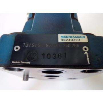 Mannesmann Egypt Italy Rexroth DB 10-2-52/250B Hydraulic Pressure Relief Valve 250 bar