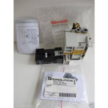 Rexroth Italy USA R480084717A,  REXROTH R480 084 902 PNEUMATIC VALVE TERMINAL SYSTEM