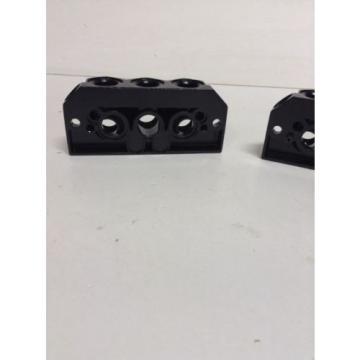 *NEW* China Australia Rexroth / Bosch 901-HN1TF Pneumatic Valve Manifold Base Kit *Warranty*