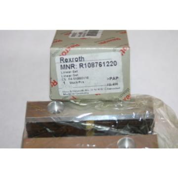 Rexroth Canada Mexico Bosch Star R1087-612-20 Linear Rail Bearing R108761220  * NEW *