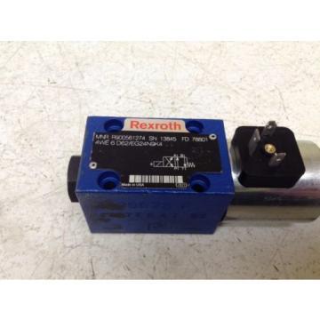 Rexroth Dutch Korea Bosch R900561274 Hydraulic Valve 24 VDC 4WE 6 D62/EG24N9K4 (TSC)