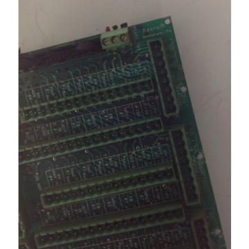 REXROTH Canada Australia INPUT CIRCUIT BOARD RS485 99210