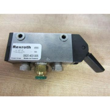 Rexroth China Australia Bosch Group 0820403005 Manually Operated Level Valve - Used