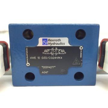 Directional Greece USA Control Solenoid Valve Rexroth 4WE10G33/CG24N9K4