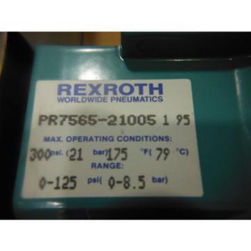 "REXROTH Mexico Korea 3/4"" NPT REGULATOR PR7565-21005 ~ NEW"