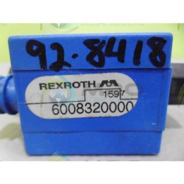REXROTH Mexico Canada 6008320000 VALVE *NEW NO BOX*